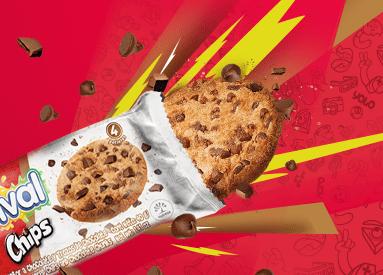 Los sabores nos unen, así como las nuevas Festival Chips