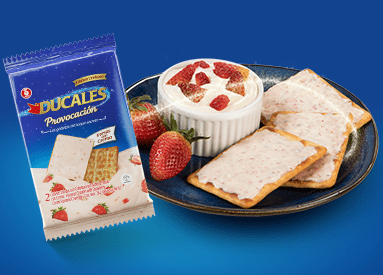 NEW DUCALES PROVOCATION STRAWBERRIES AND CREAM
