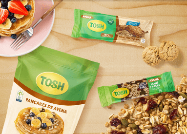 NEW LINE OF OAT FROM OUR TOSH BRAND