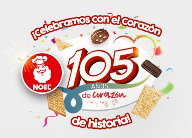 ¡Estamos cumpliendo 105 maravillosos años de historia!