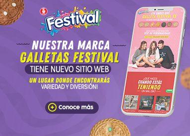 Festival estrena su nuevo sitio web con más variedad y diversión