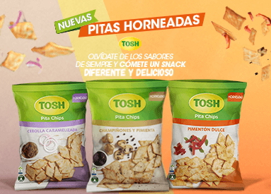 Disfruta las Nuevas Pitas Horneadas TOSH