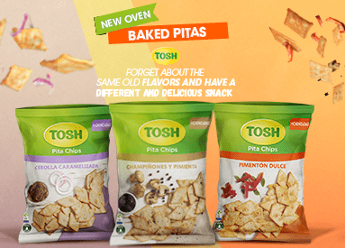Enjoy the New TOSH Oven-Baked Pitas
