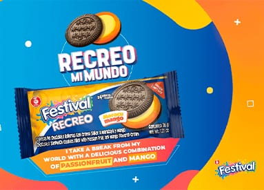 Enjoy the new Festival Recreo Passionmango