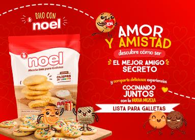 ¡Celebra Amor y Amistad con Galletas Noel!