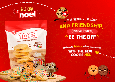 Celebrate the season of Love and Friendship with Noel!